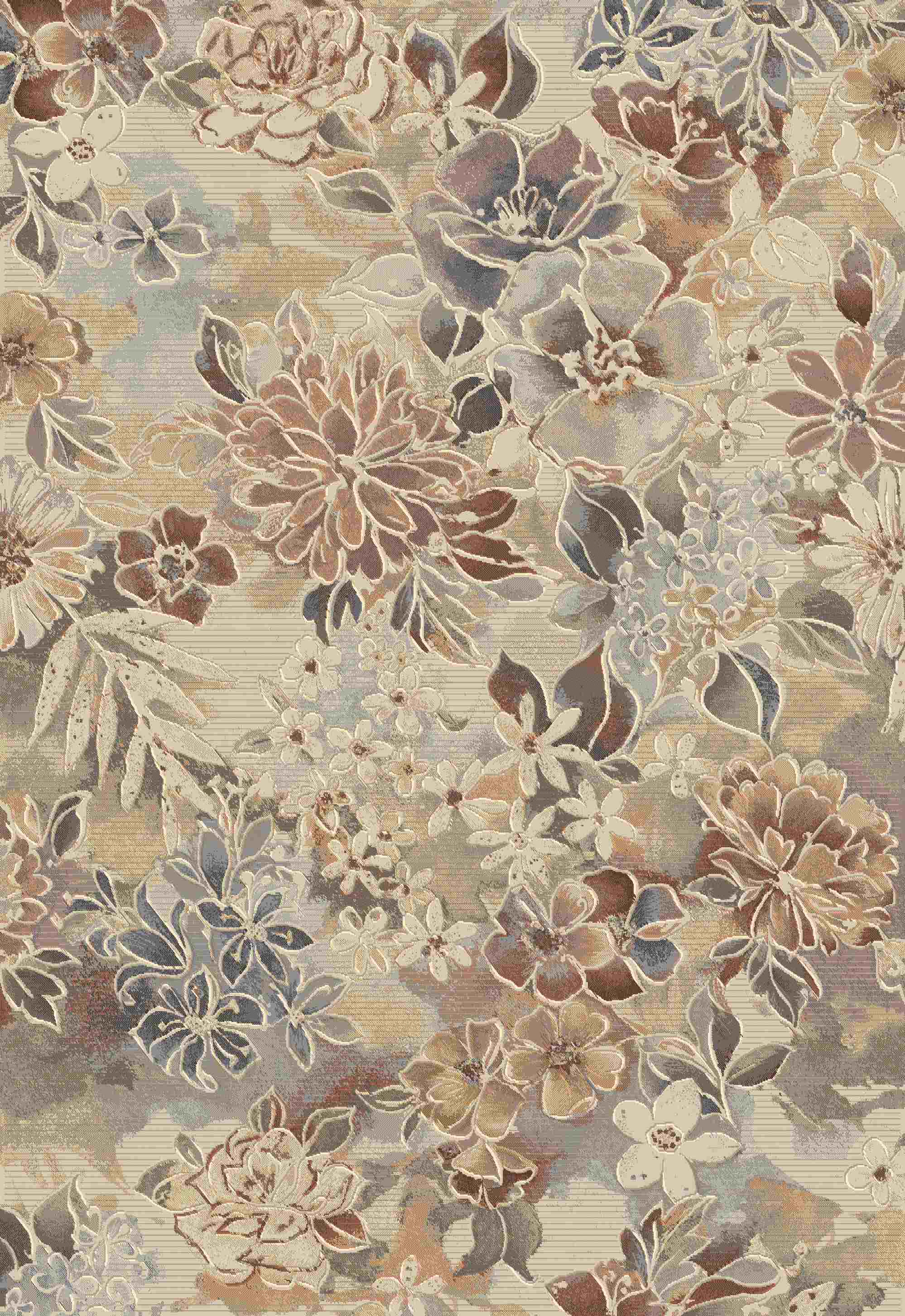 Dynamic Rugs Eclipse Floral Multi 79145 Area Rug