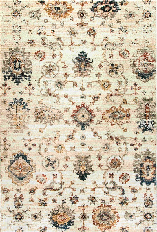 Dynamic Evolution Ivory Traditional Rug 4771-100