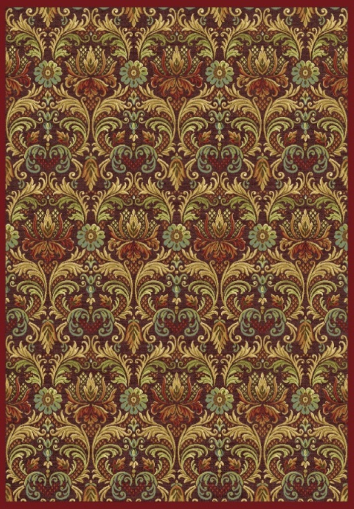 Dynamic Rugs Genova Medallion/damask 38106 Area Rug