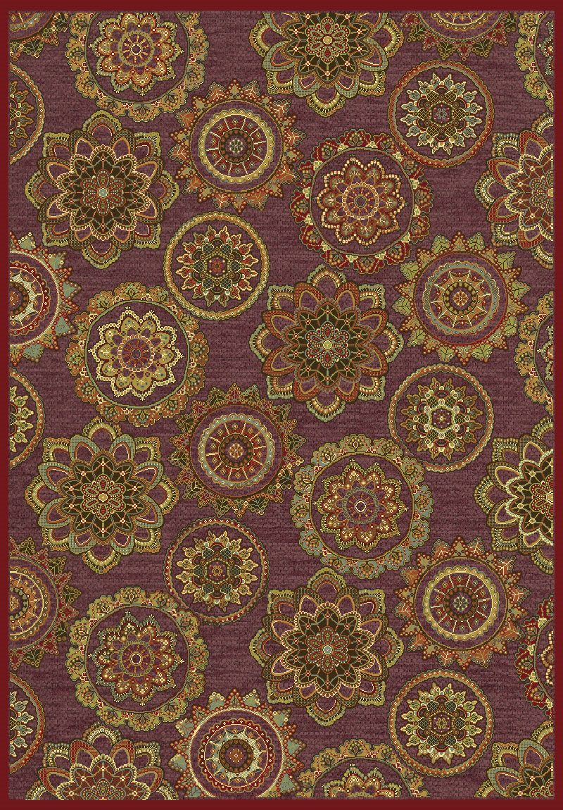 Dynamic Rugs Genova Medallion/damask 38150 Area Rug