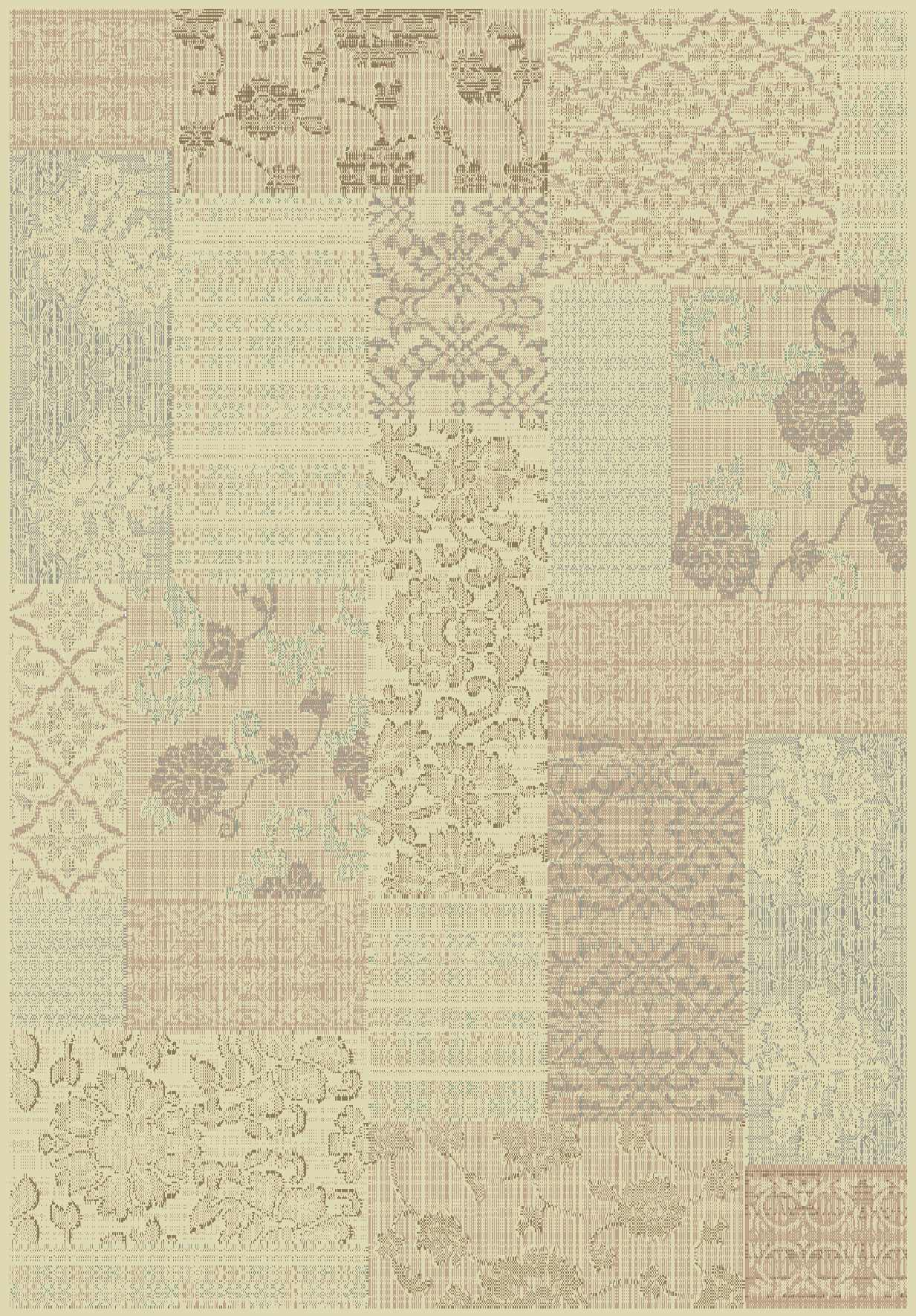 Dynamic Rugs Imperial Floral Cream 621 Area Rug