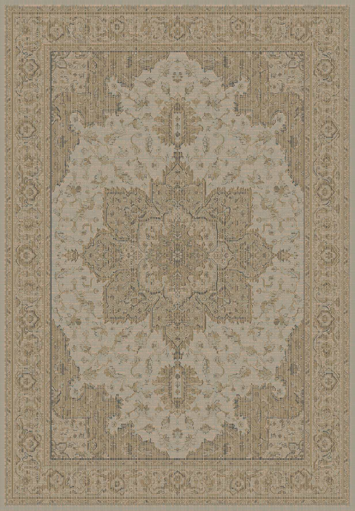 Dynamic Rugs Imperial Classic Taupe 622 Area Rug