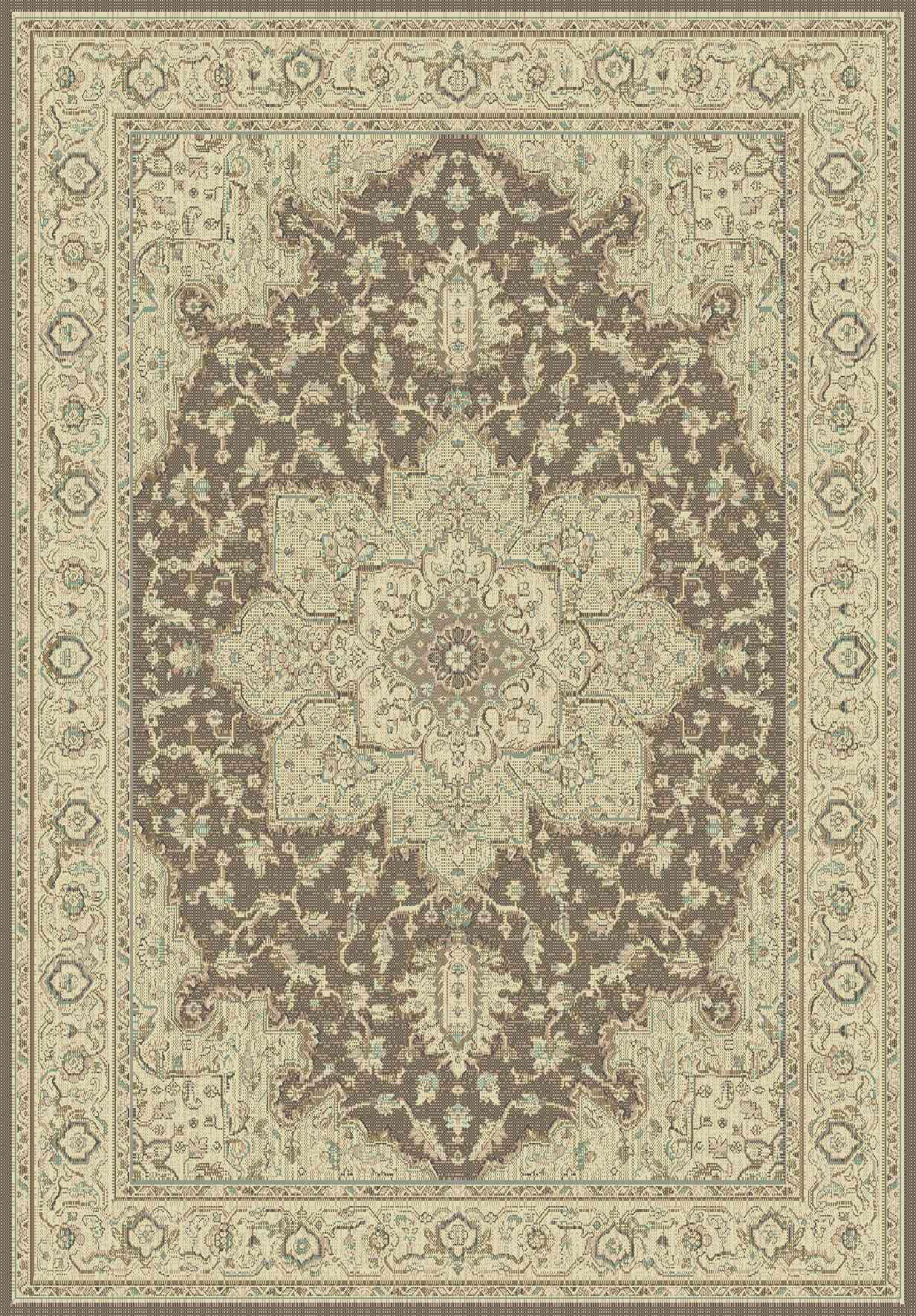 Dynamic Rugs Imperial Classic Brown/cream 622 Area Rug