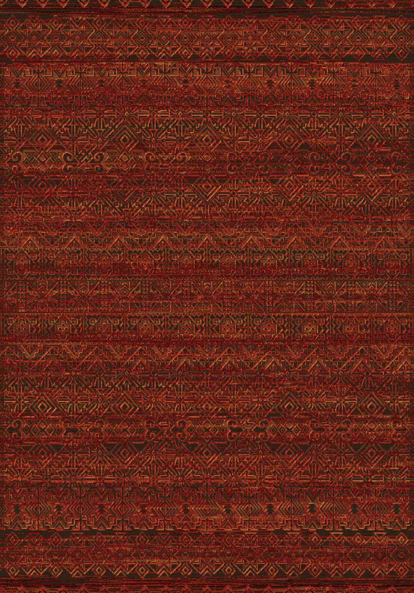 Dynamic Rugs Imperial Global Red 68331 Area Rug