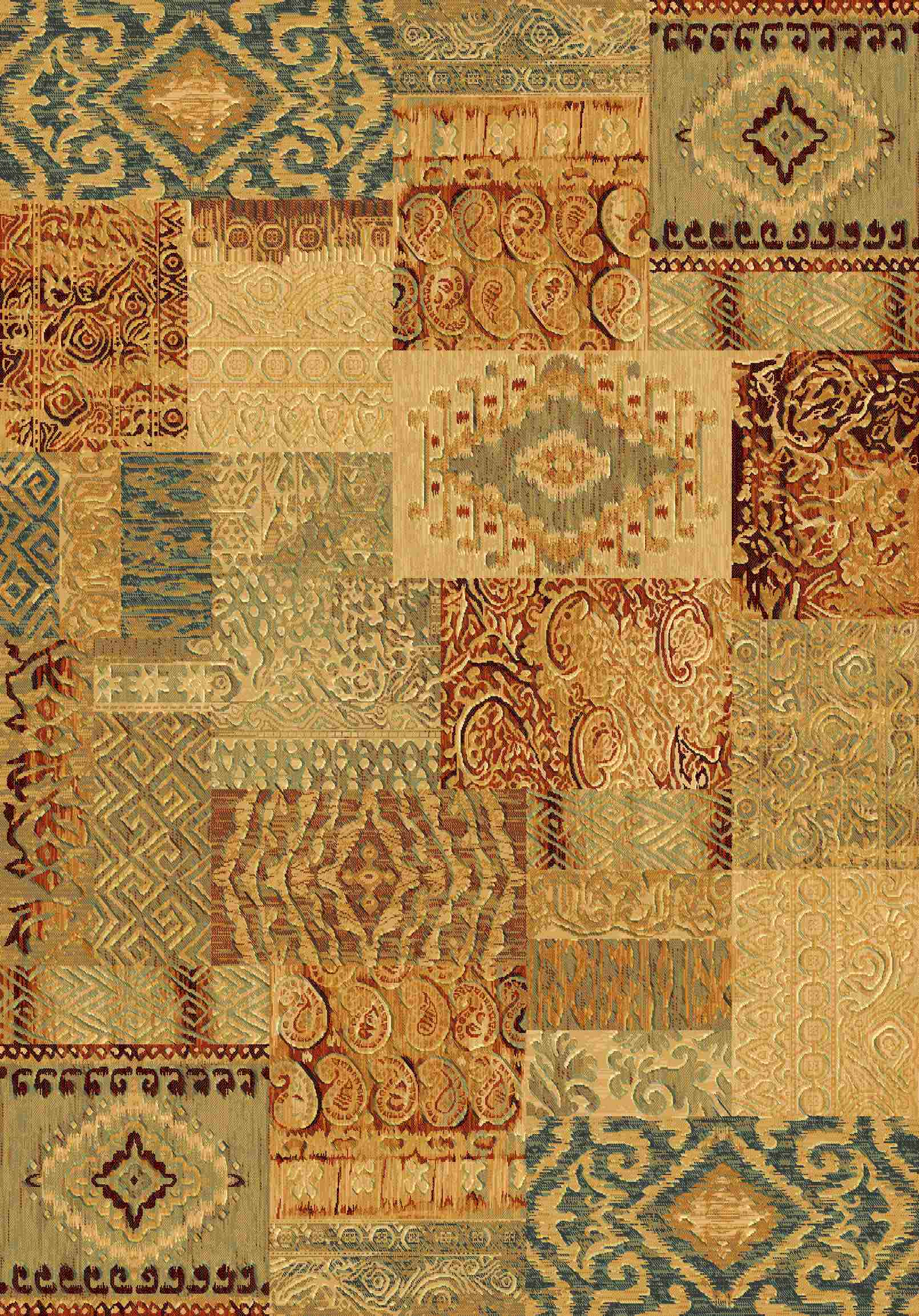 Dynamic Rugs Imperial Global Gold 73292 Area Rug