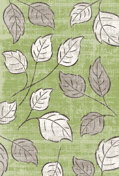 Dynamic Rugs Infinity Floral Green 32015 Area Rug
