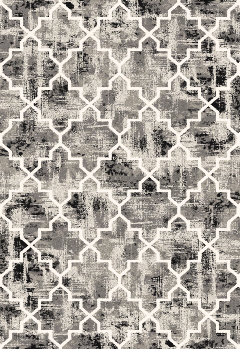 Dynamic Rugs Infinity Geometric Brown 32042 Area Rug