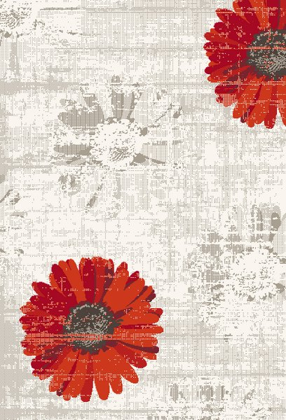 Dynamic Rugs Infinity Floral Ivory/red 35009 Area Rug