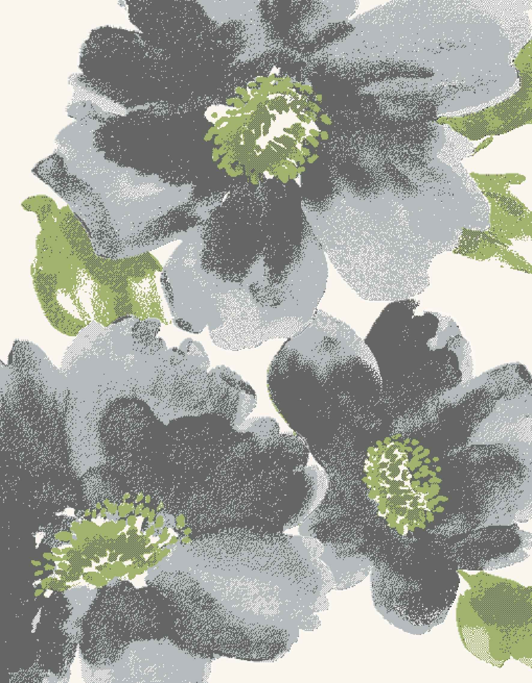 Dynamic Rugs Infinity Floral Grey 35021 Area Rug