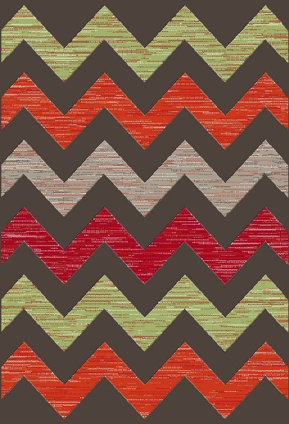 Dynamic Rugs Infinity Geometric Multi 35373 Area Rug