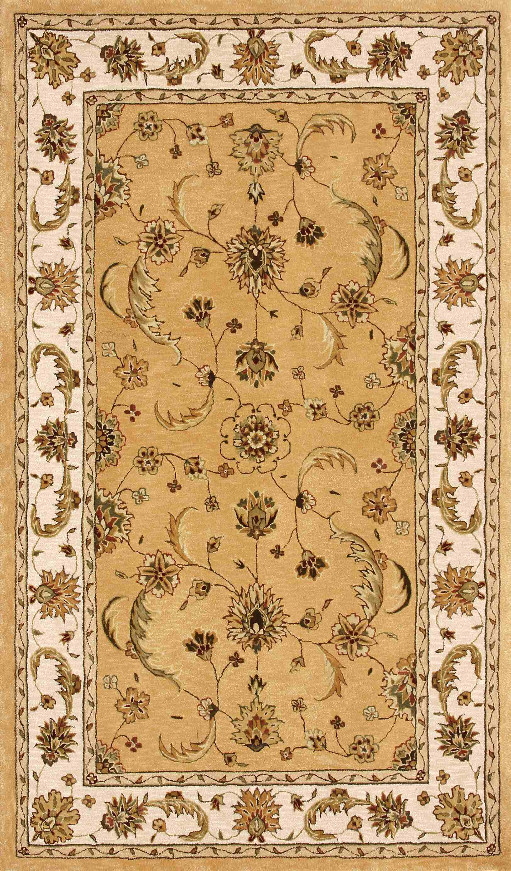 Dynamic Rugs Jewel Classic Gold/beige 70113 Area Rug