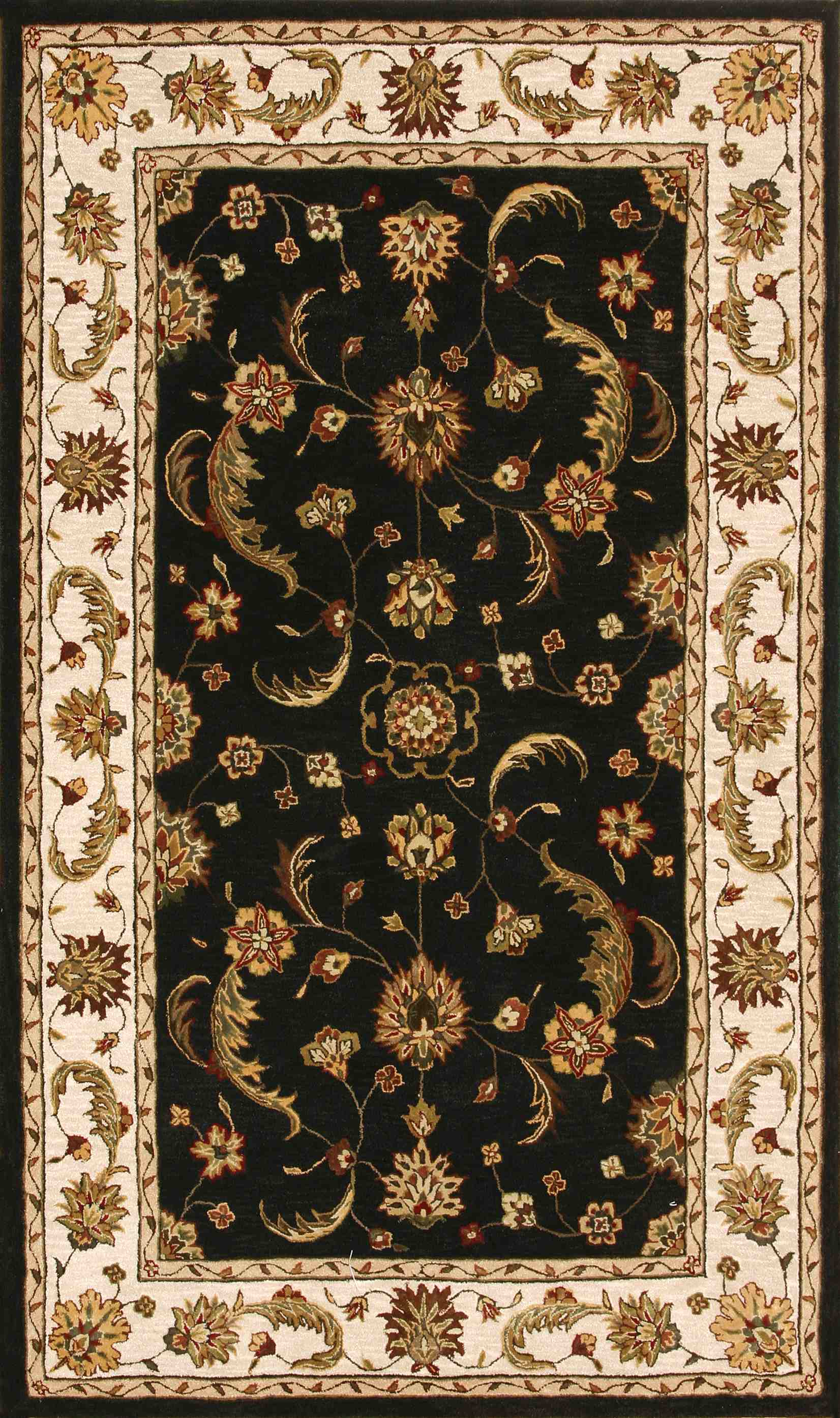 Dynamic Rugs Jewel Classic Charcoal 70113 Area Rug