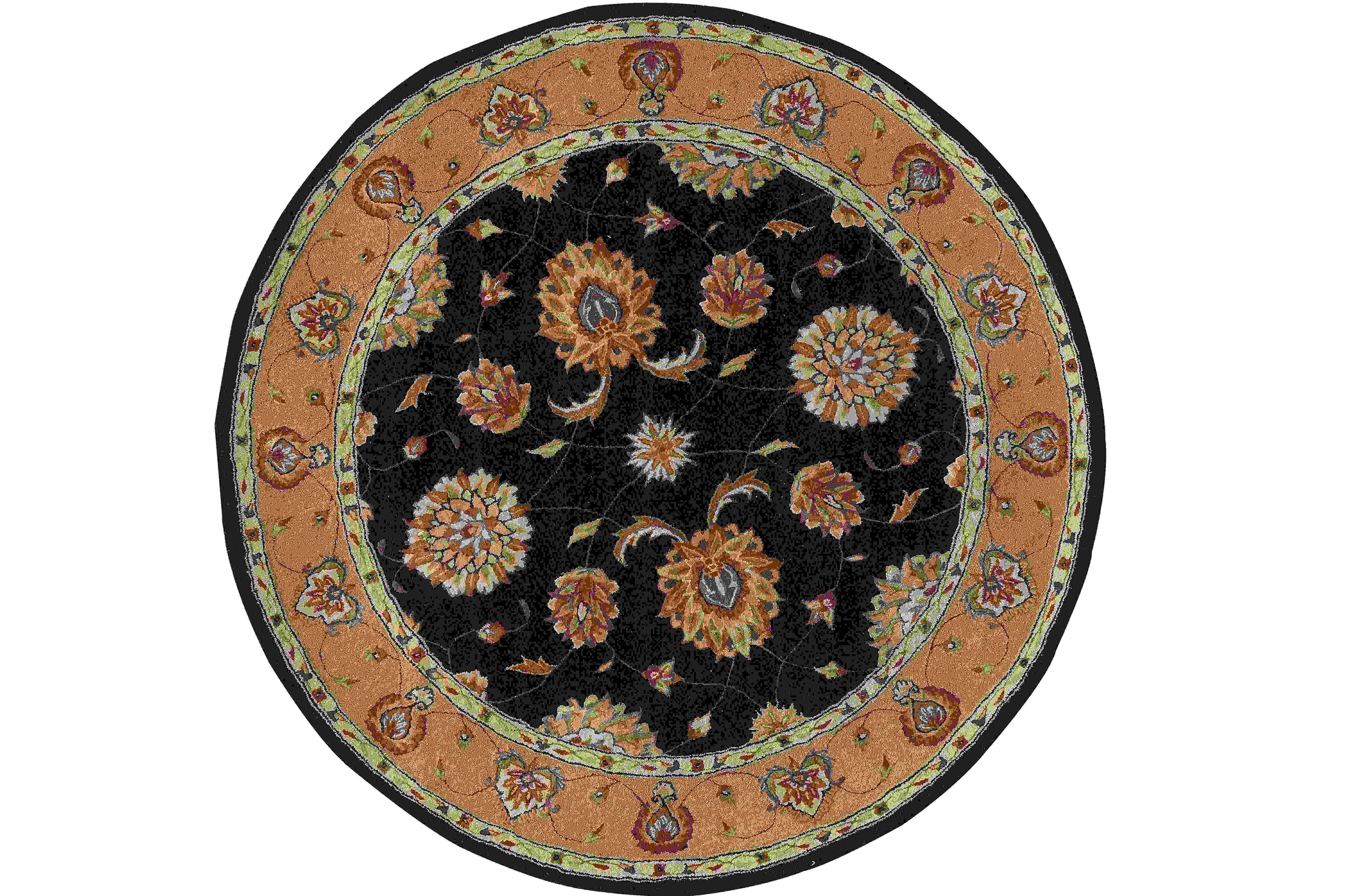 Dynamic Rugs Jewel Classic Black 70230 Area Rug