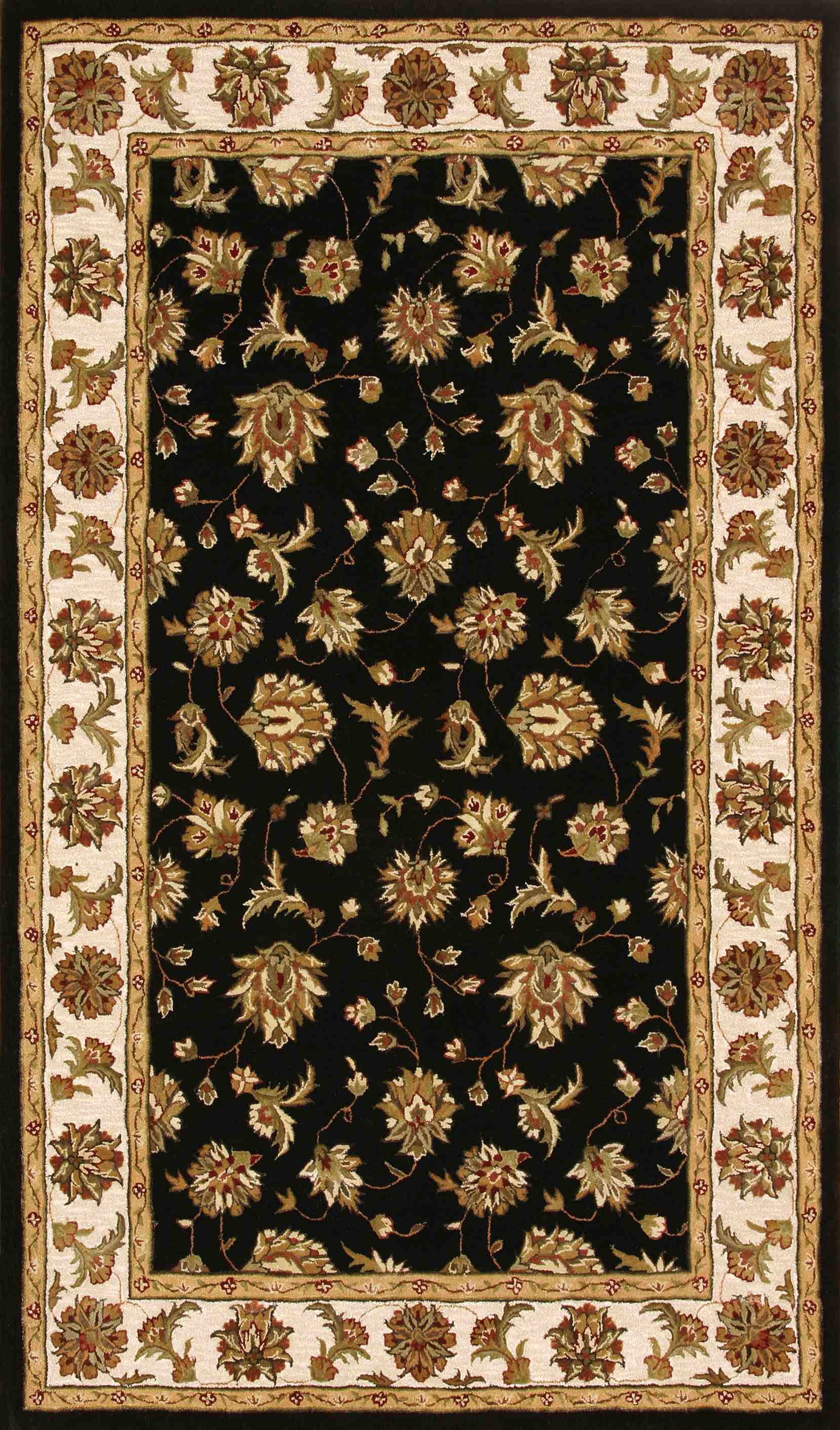 Dynamic Rugs Jewel Classic Black 70231 Area Rug
