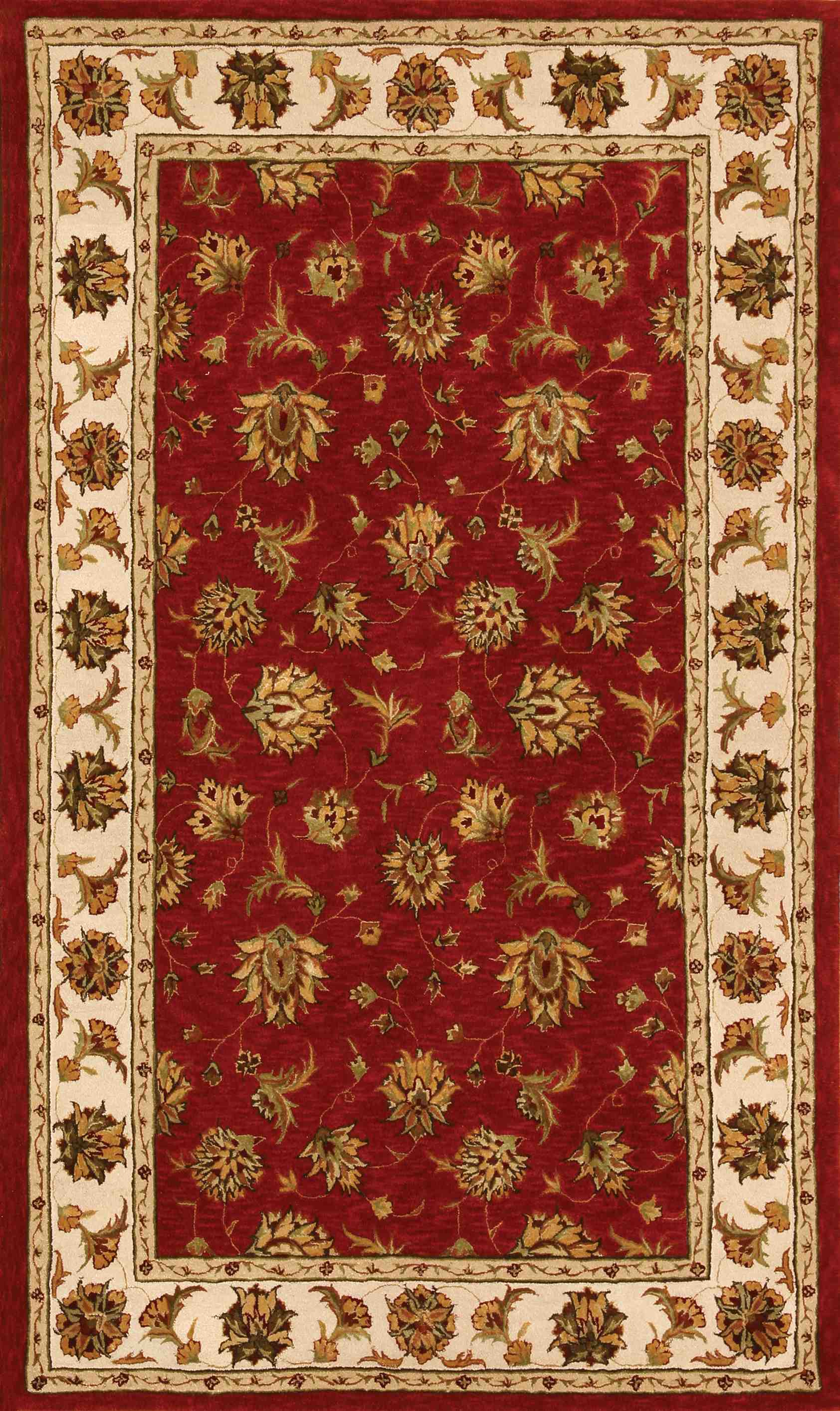 Dynamic Rugs Jewel Classic Red 70231 Area Rug