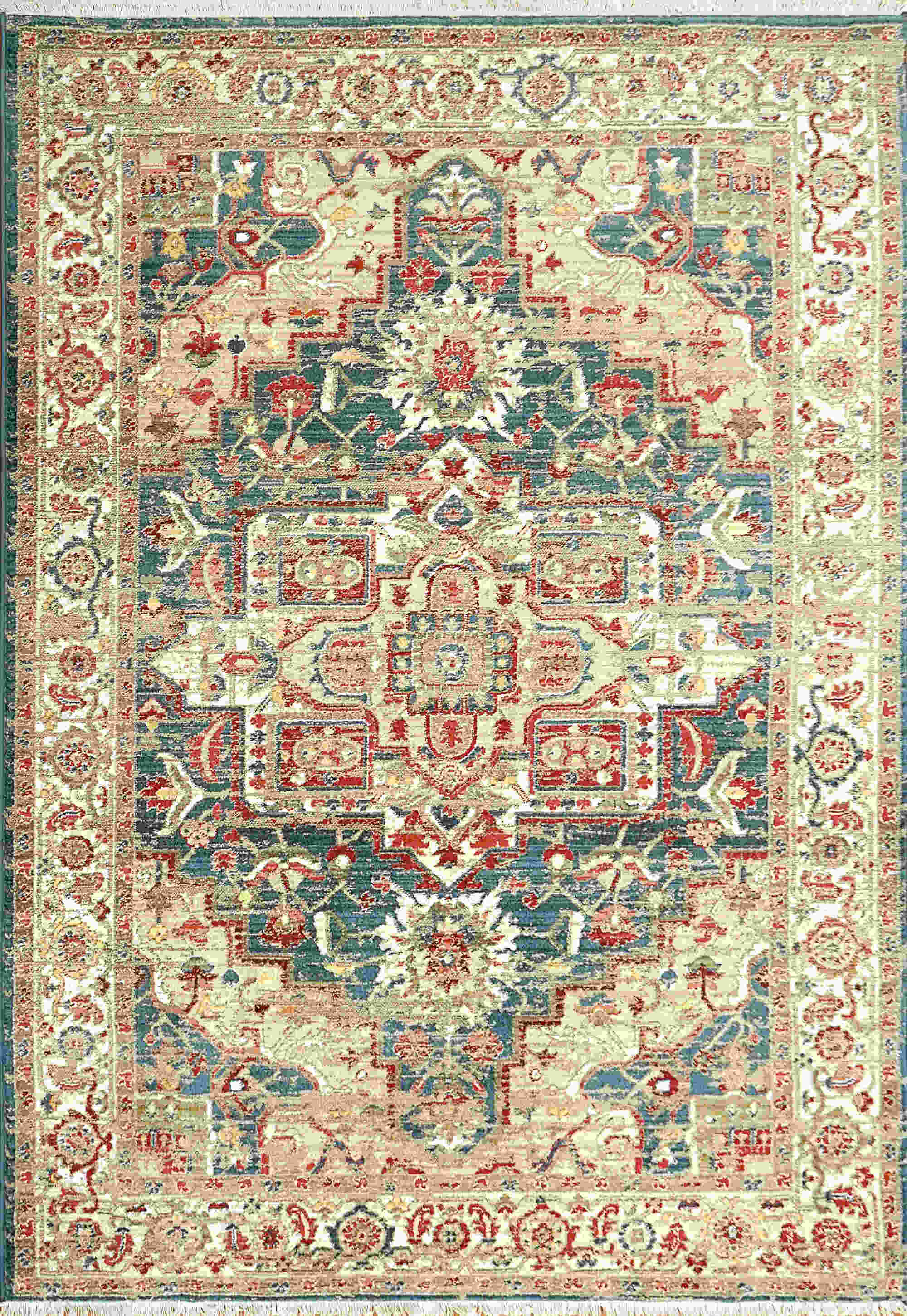 Dynamic Juno Navy-red Transitional Rug 6882-530