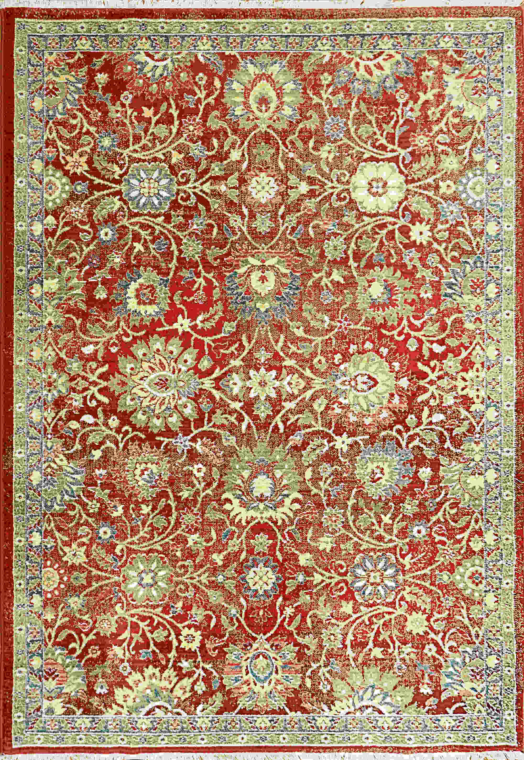 Dynamic Juno Red Transitional Rug 6883-300