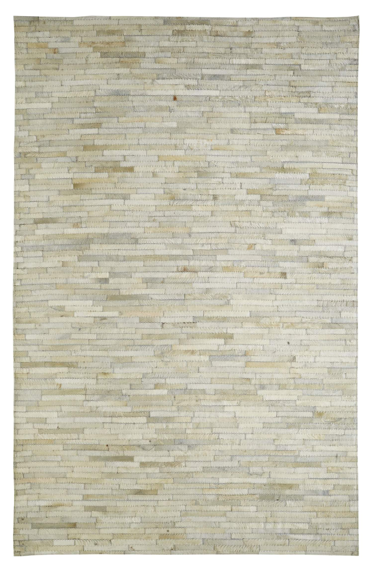 Dynamic Rugs Leatherwork Geometric Ivory 8109 Area Rug