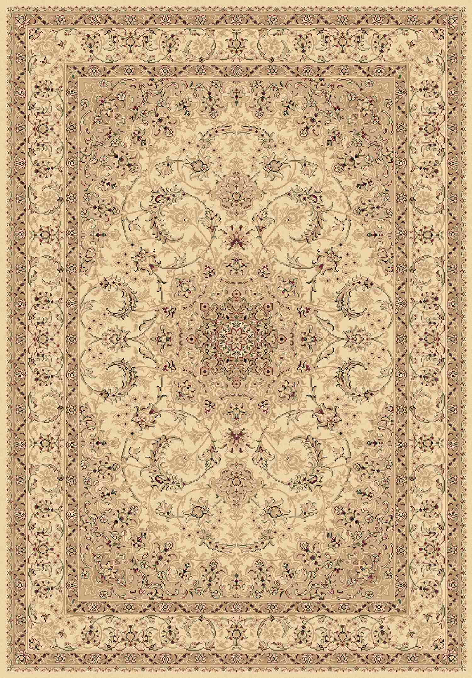 Dynamic Rugs Legacy Classic Ivory 58000 Area Rug