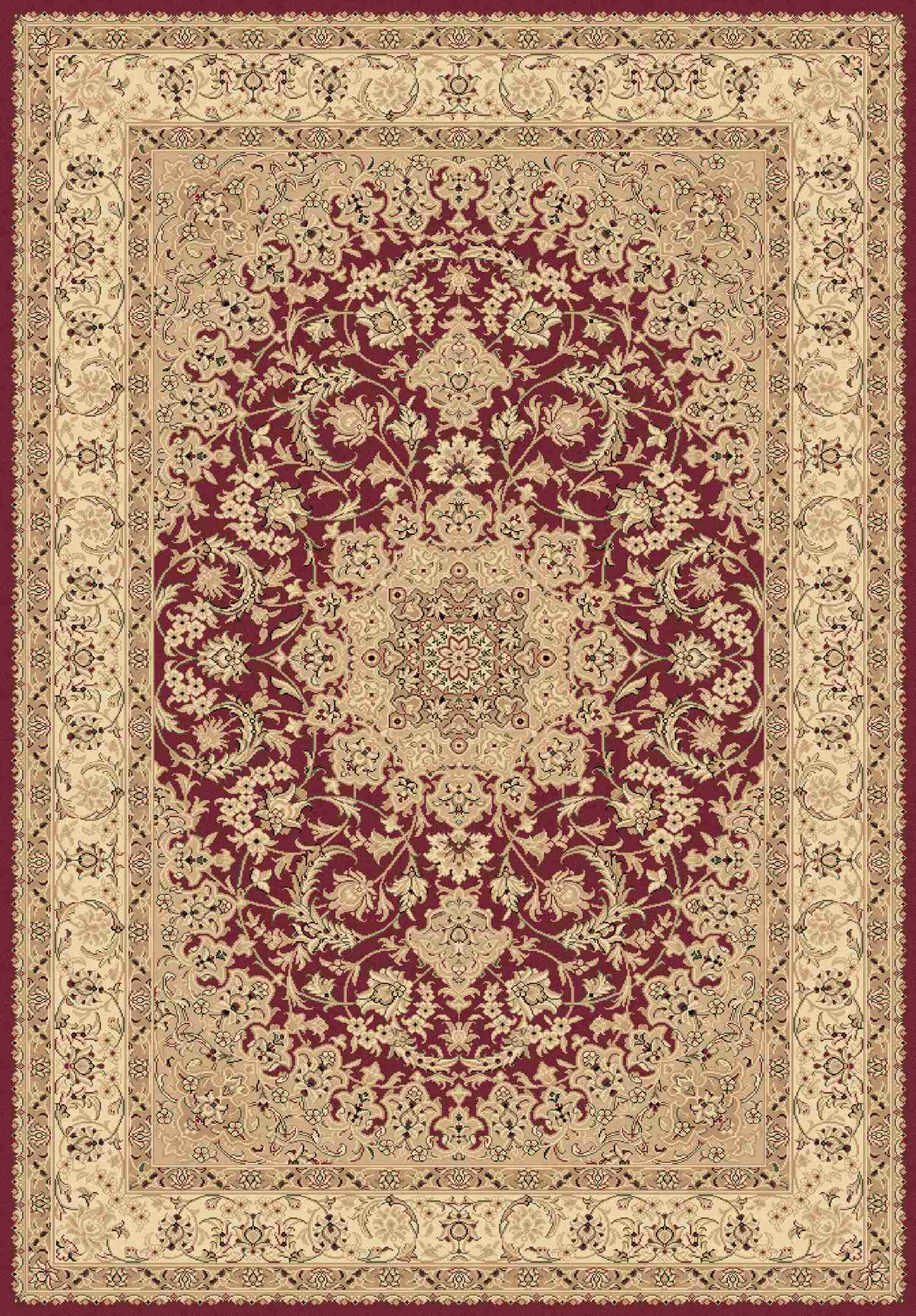 Dynamic Rugs Legacy Classic Red 58000 Area Rug