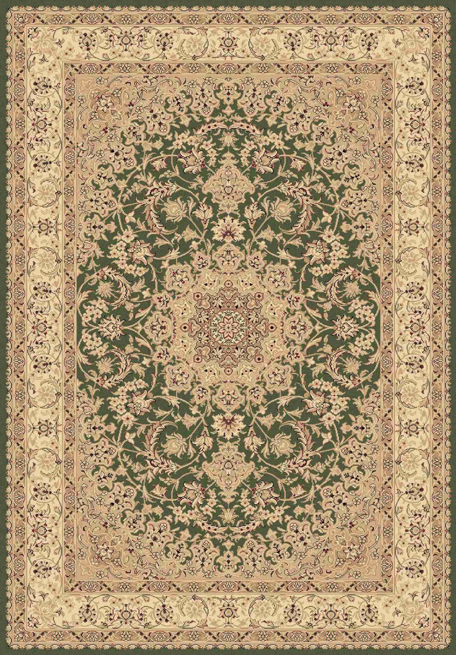 Dynamic Rugs Legacy Classic Green 58000 Area Rug