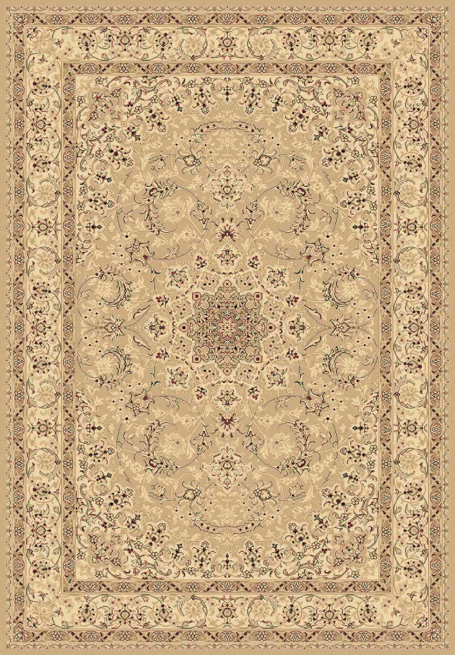 Dynamic Rugs Legacy Classic Yellow 58000 Area Rug