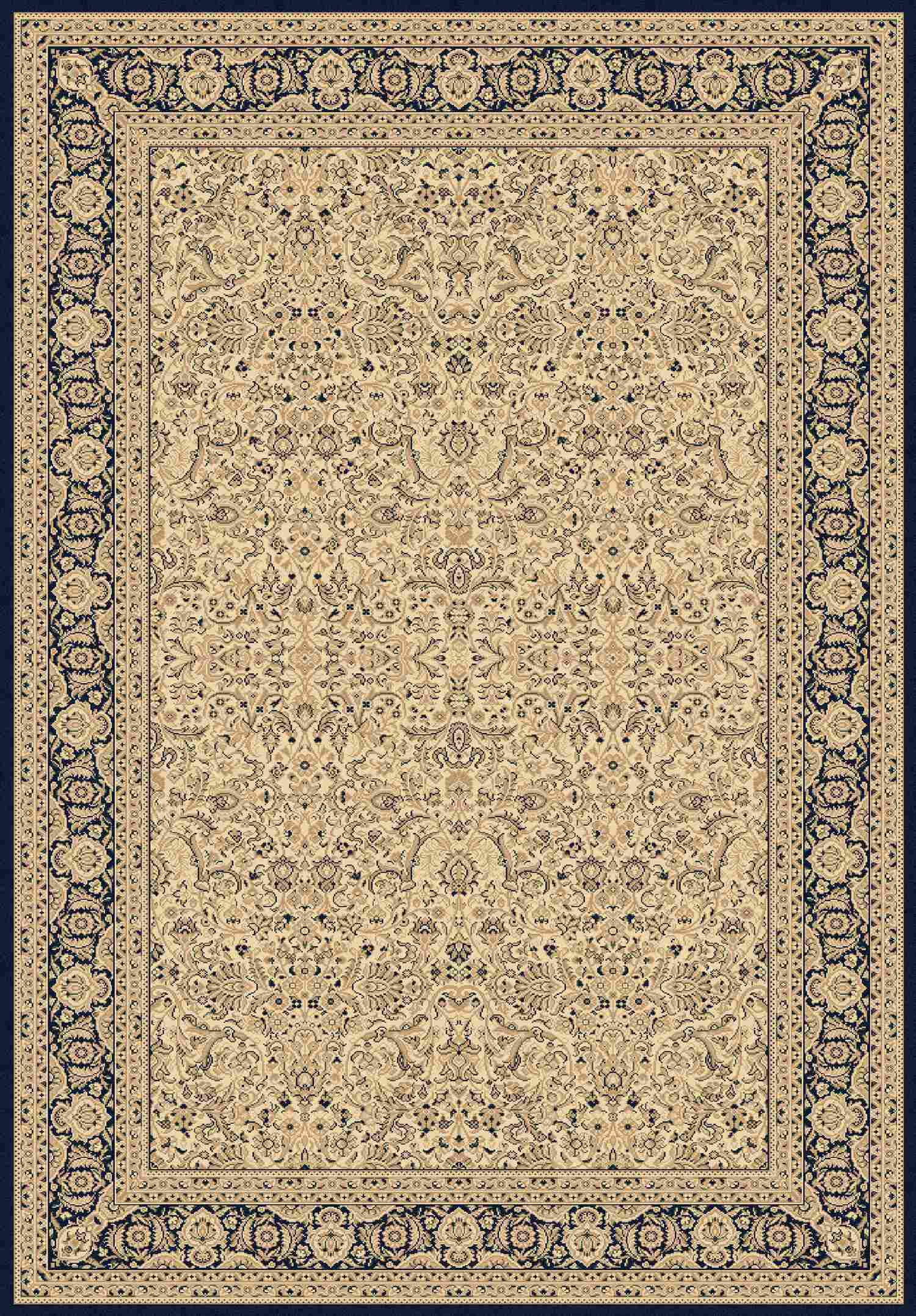 Dynamic Rugs Legacy Classic Ivory 58004 Area Rug