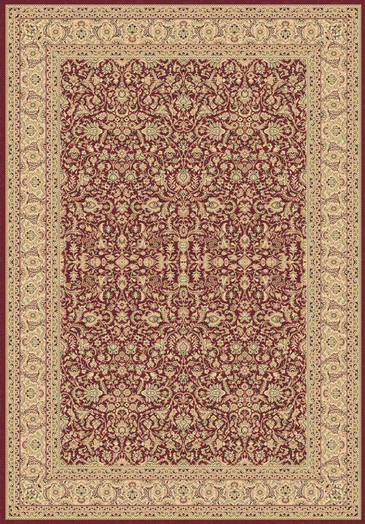 Dynamic Rugs Legacy Classic Red 58004 Area Rug