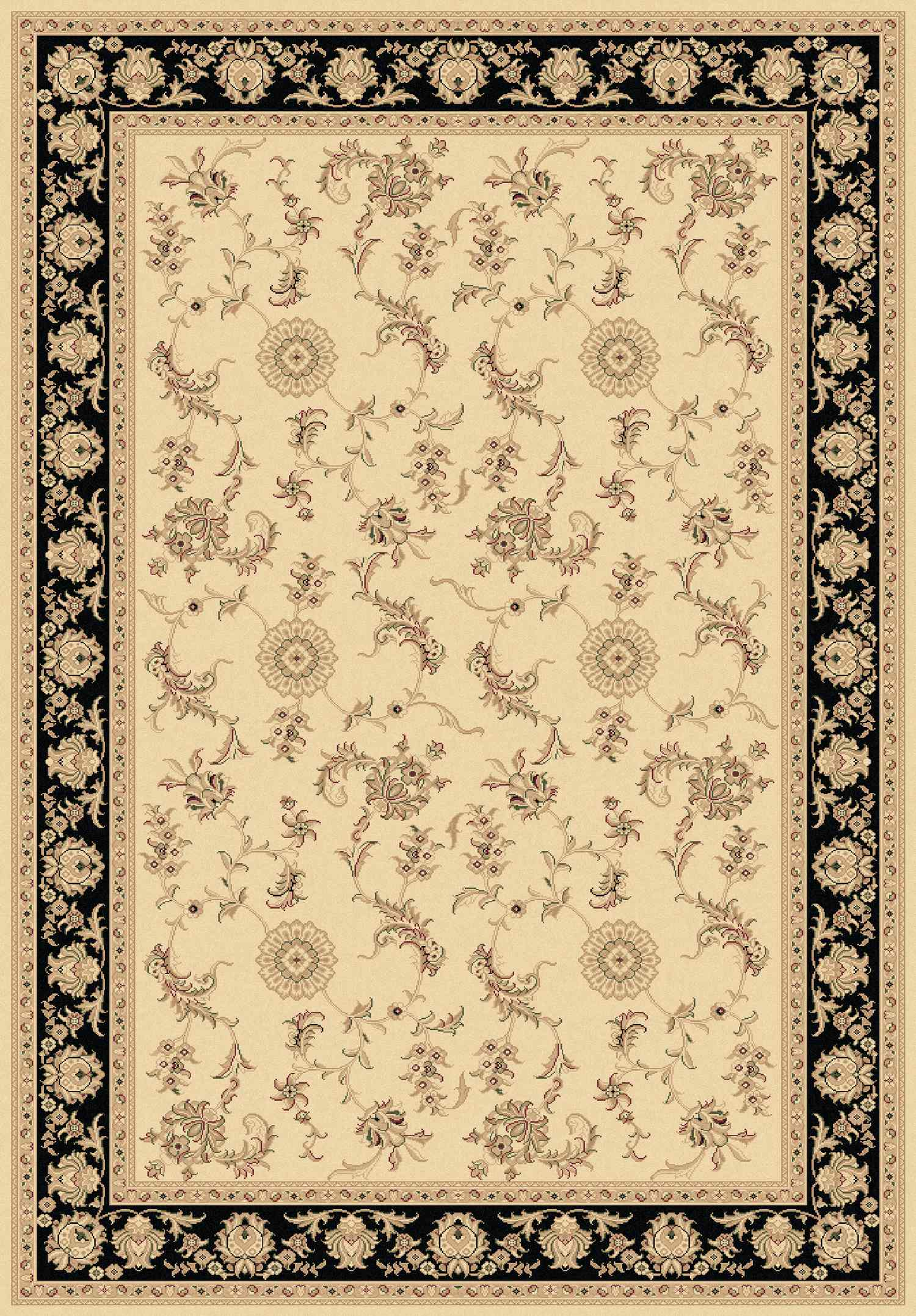 Dynamic Rugs Legacy Classic Ivory/black 58017 Area Rug