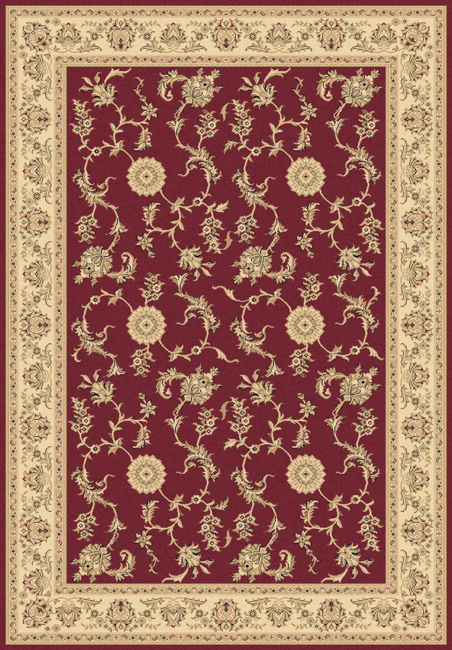 Dynamic Rugs Legacy Classic Red 58017 Area Rug