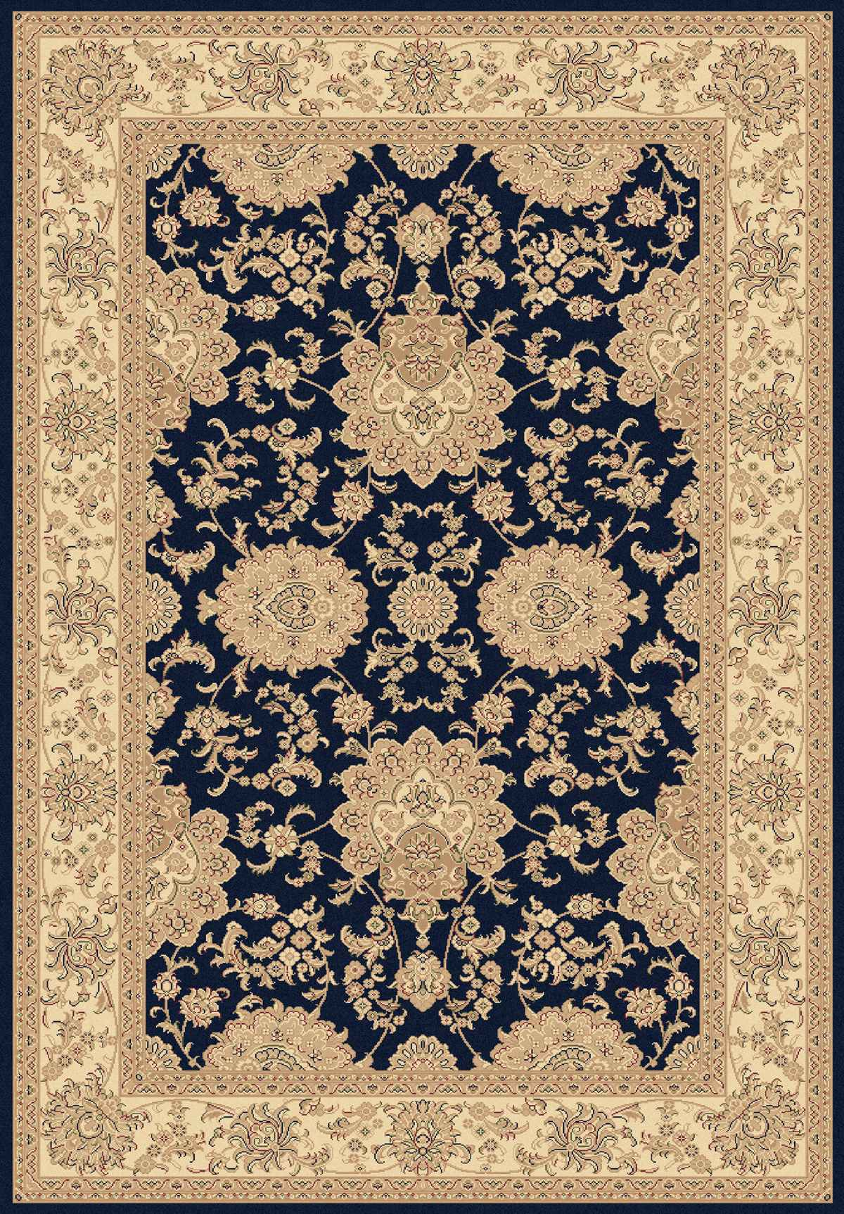 Dynamic Rugs Legacy Classic Navy 58019 Area Rug