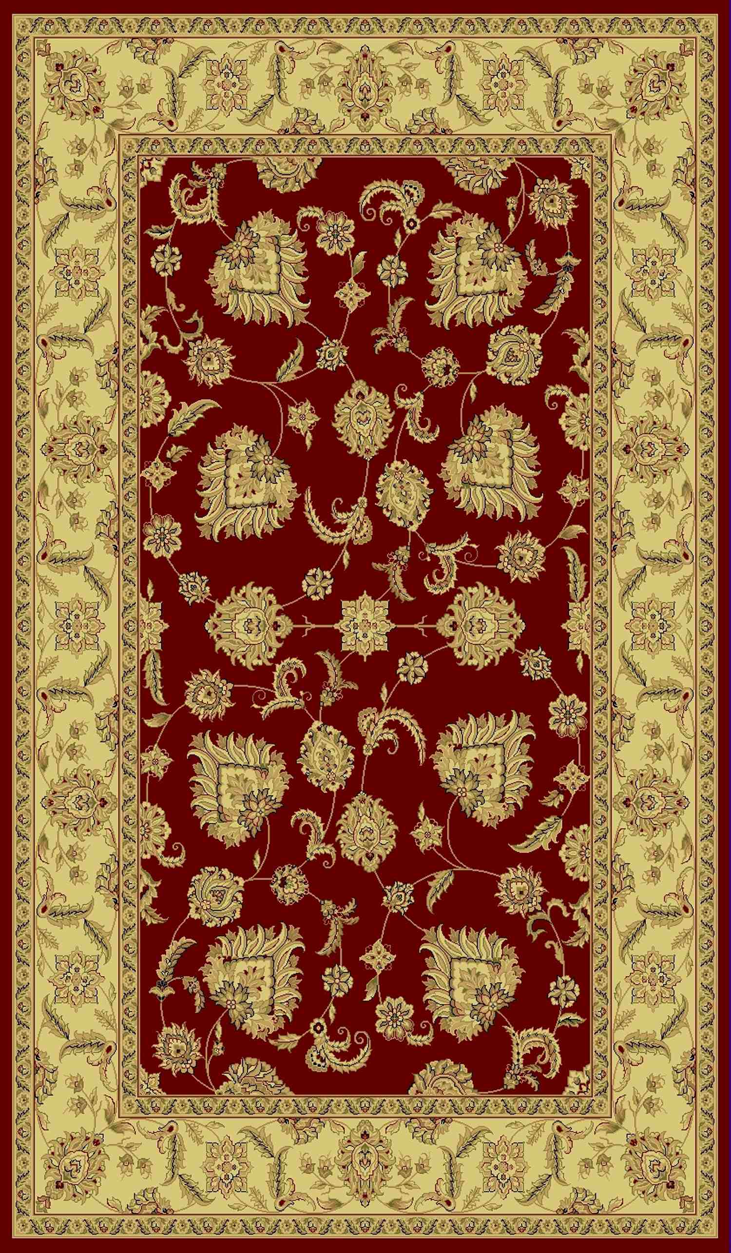 Dynamic Rugs Legacy Classic Red 58020 Area Rug