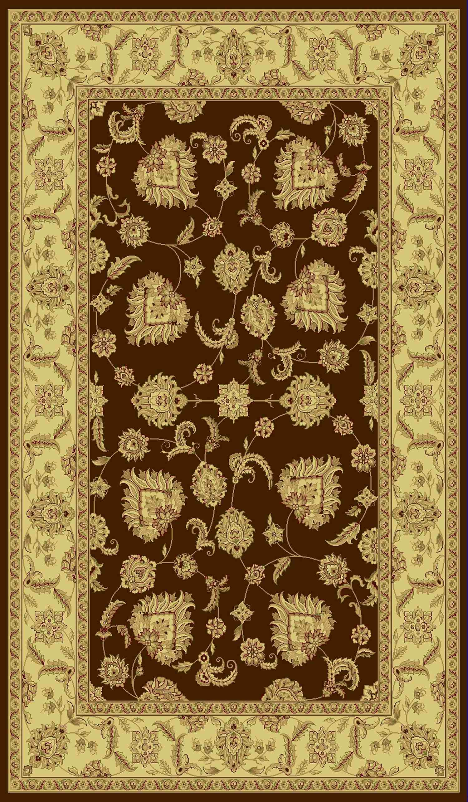 Dynamic Rugs Legacy Classic Brown 58020 Area Rug