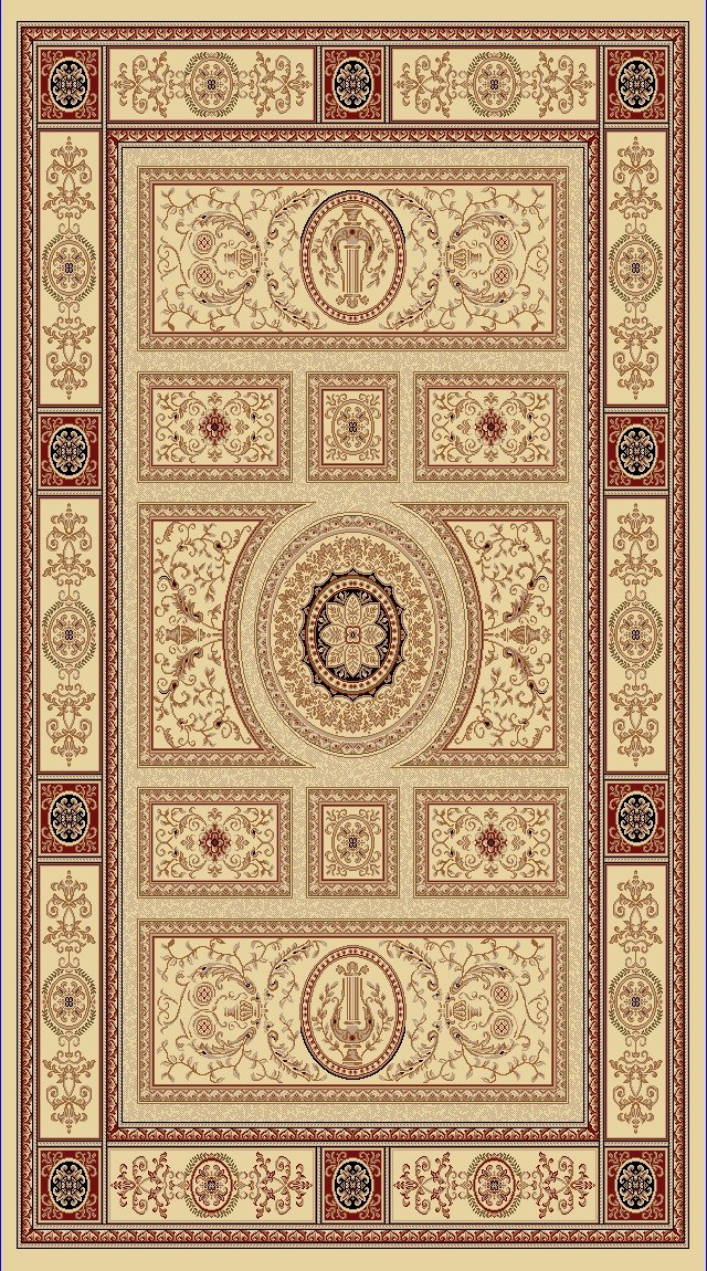 Dynamic Rugs Legacy Classic Ivory 58021 Area Rug