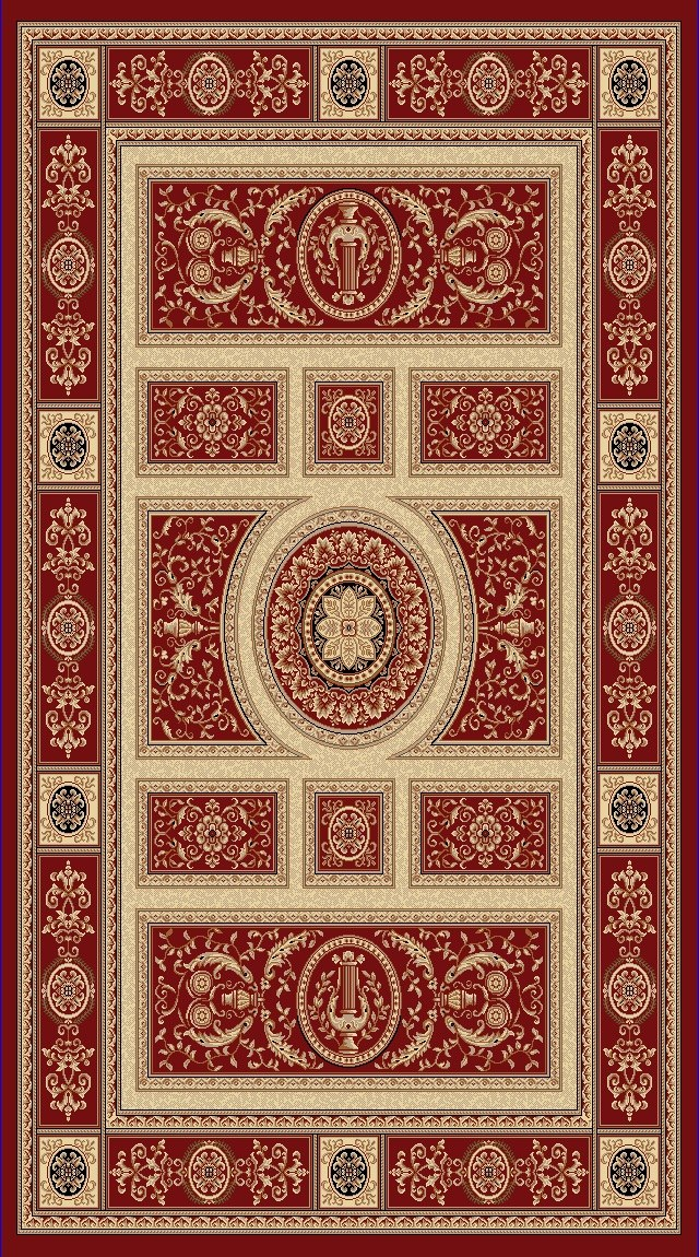 Dynamic Rugs Legacy Classic Red 58021 Area Rug