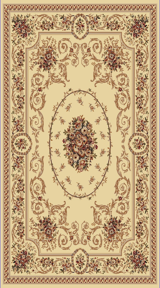 Dynamic Rugs Legacy Classic Ivory 58022 Area Rug