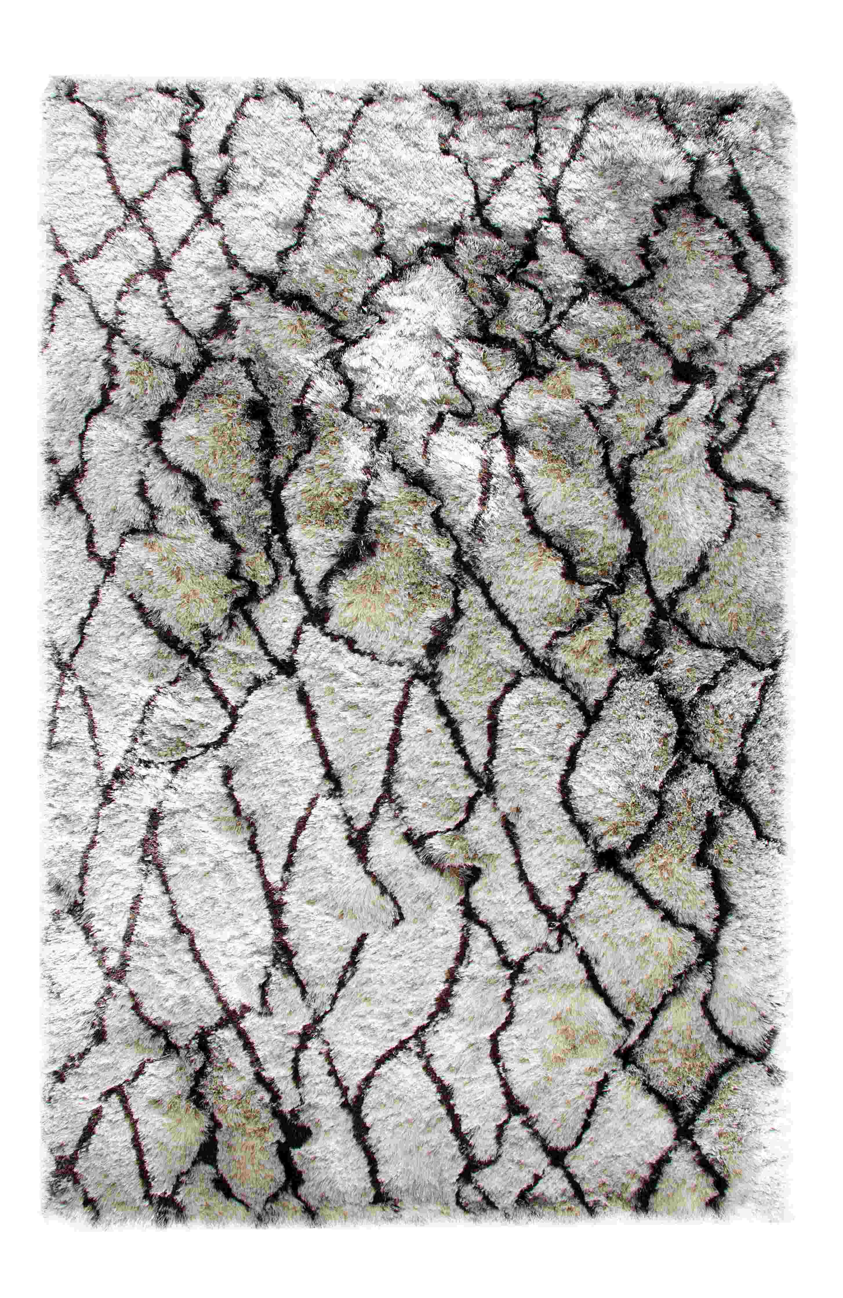 Dynamic Rugs Loft Abstract Silver/brn 3101 Area Rug