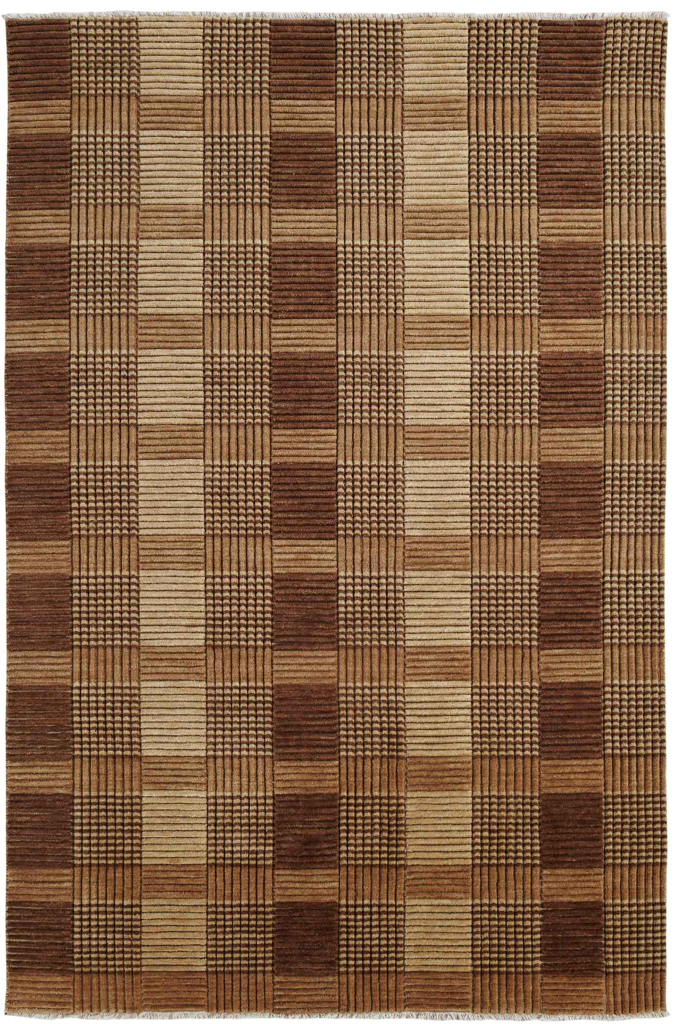 Dynamic Rugs Lounge Geometric Brown 9899 Area Rug