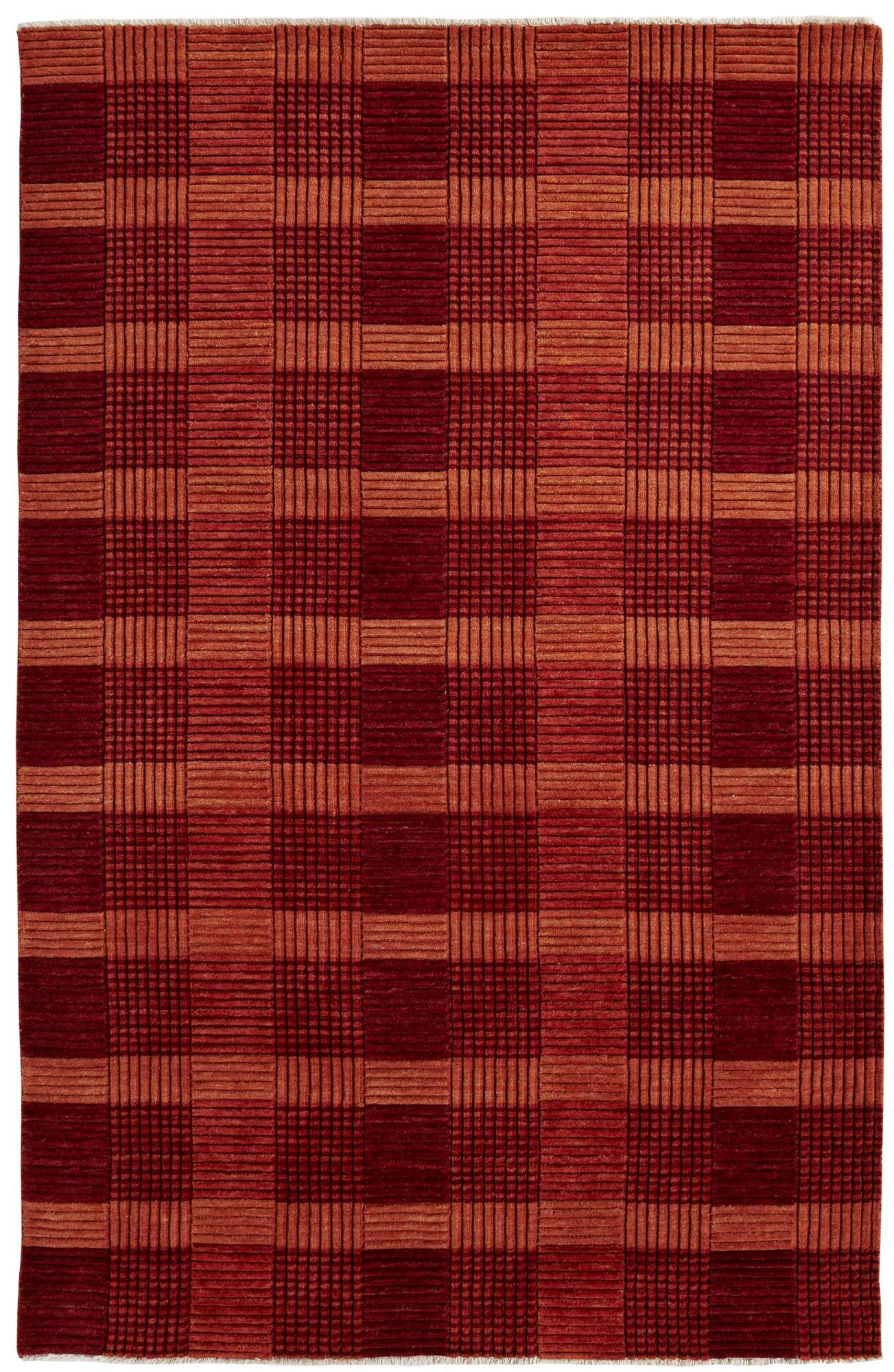 Dynamic Rugs Lounge Geometric Red 9899 Area Rug