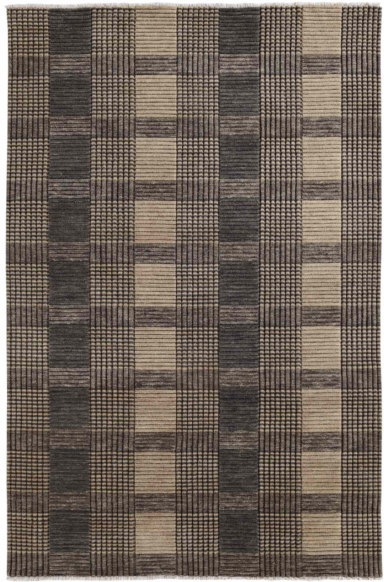 Dynamic Rugs Lounge Geometric Grey 9899 Area Rug