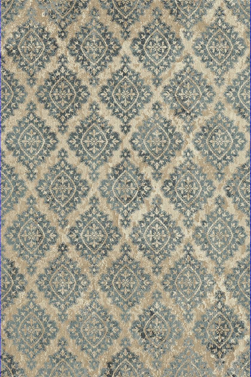 Dynamic Rugs Melody Medallion/damask Ivory 985015 Area Rug