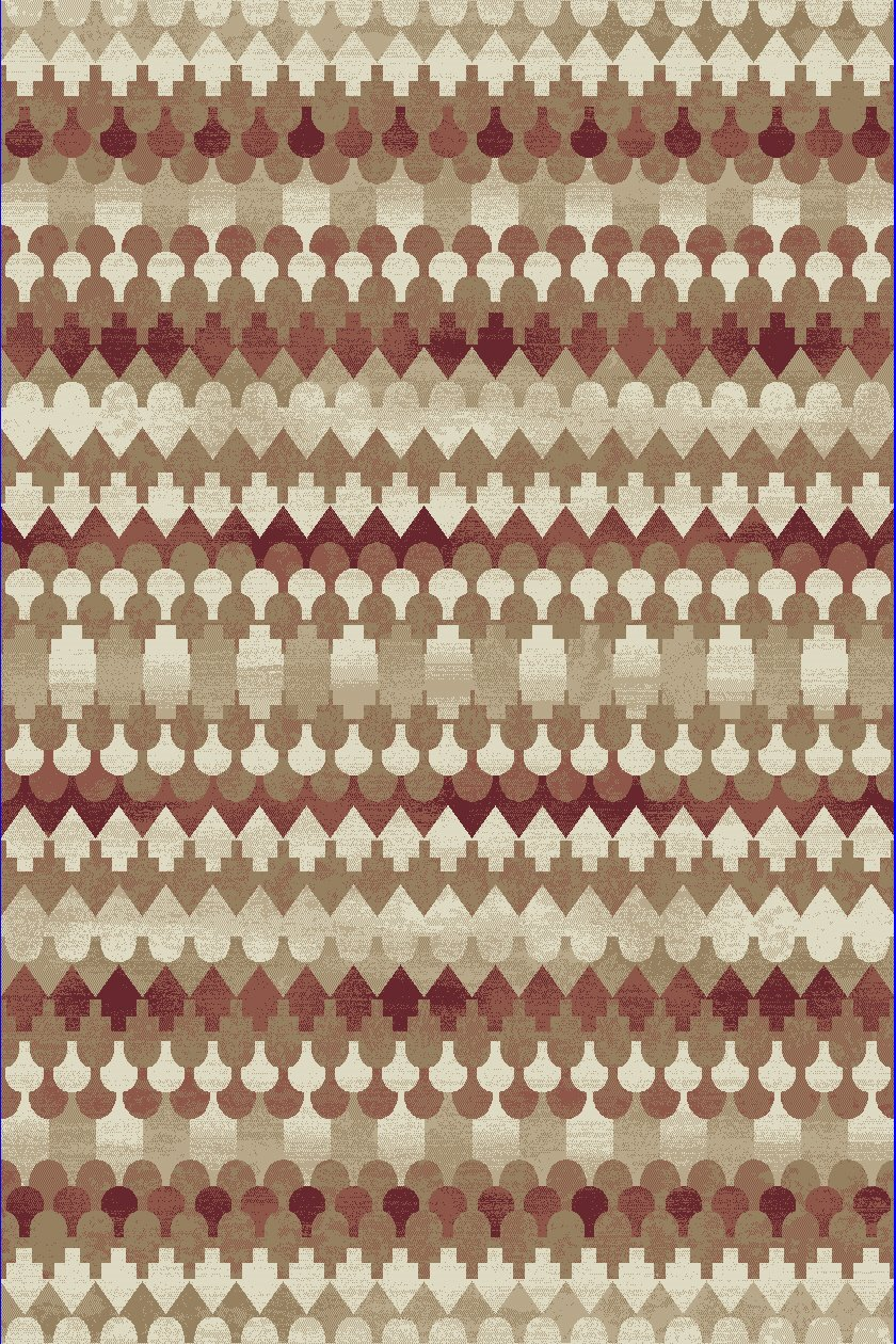 Dynamic Rugs Melody Global Red 985016 Area Rug