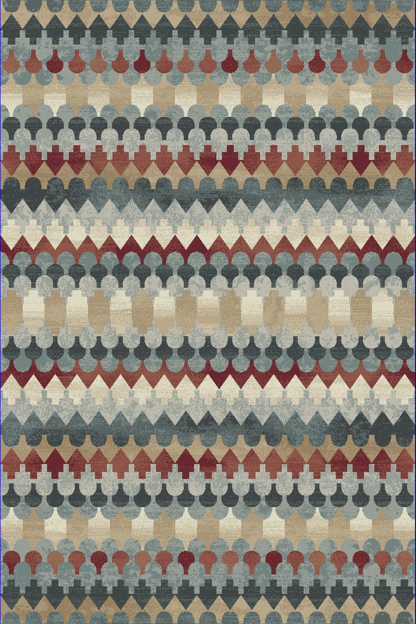 Dynamic Rugs Melody Global Multi 985016 Area Rug