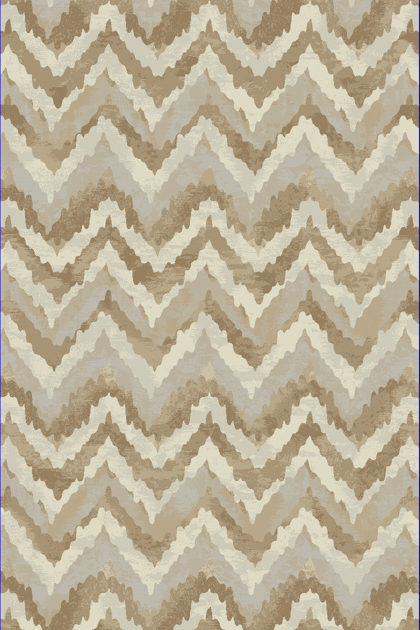 Dynamic Rugs Melody Geometric Ivory 985018 Area Rug