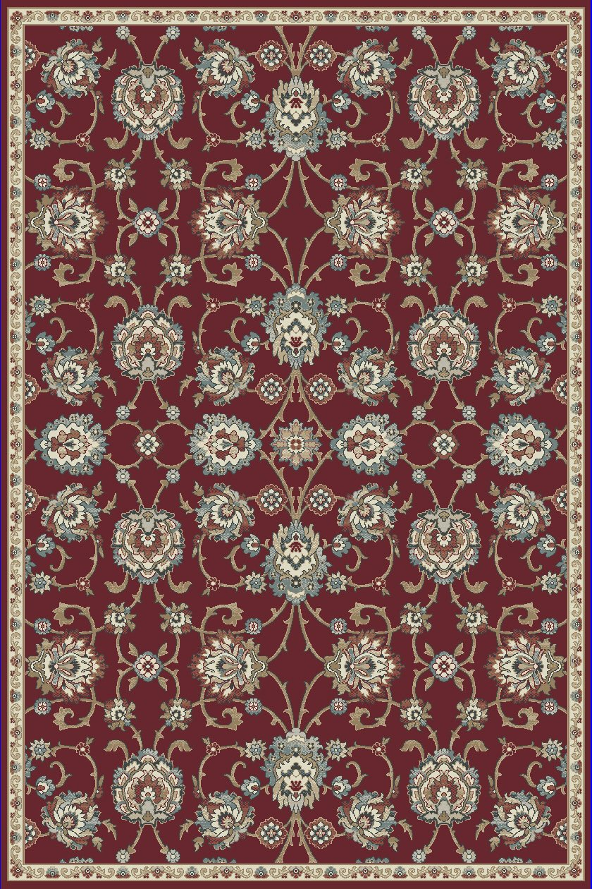 Dynamic Rugs Melody Classic Red 985020 Area Rug
