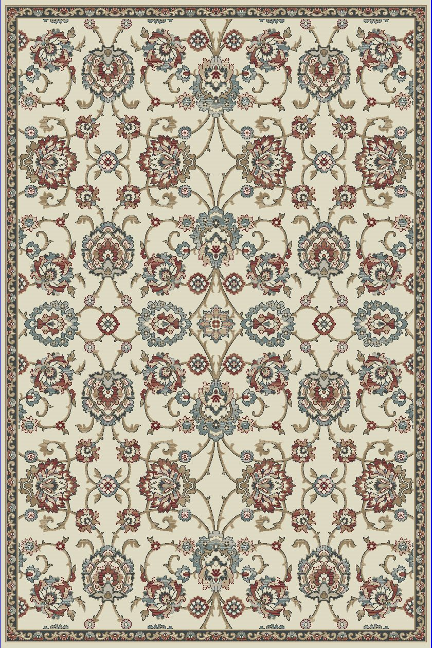 Dynamic Rugs Melody Classic Ivory 985020 Area Rug