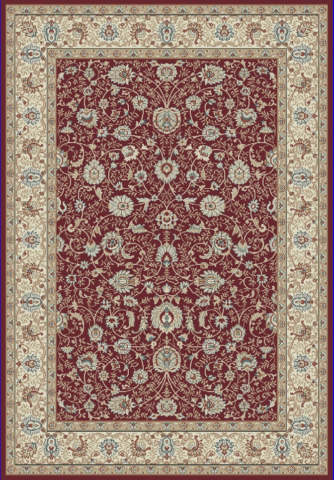 Dynamic Rugs Melody Classic Red 985022 Area Rug