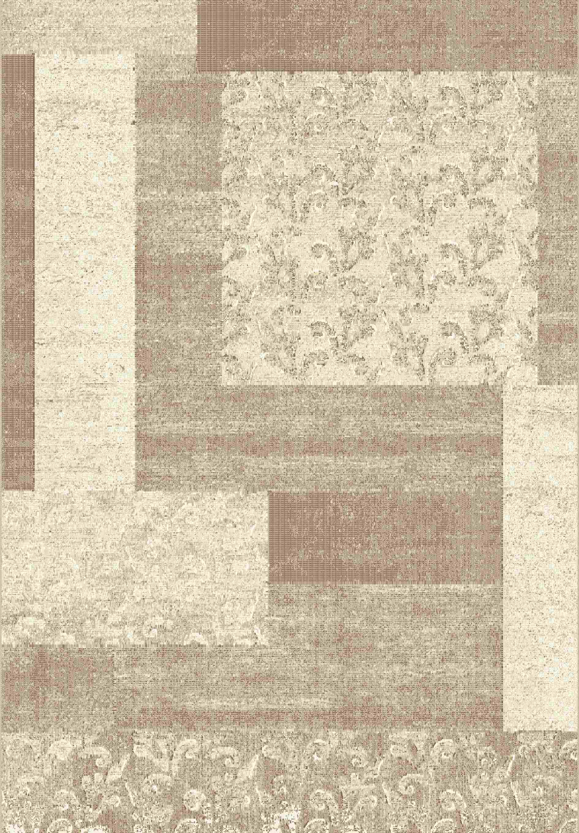Dynamic Rugs Mysterio Floral Beige 1207 Area Rug