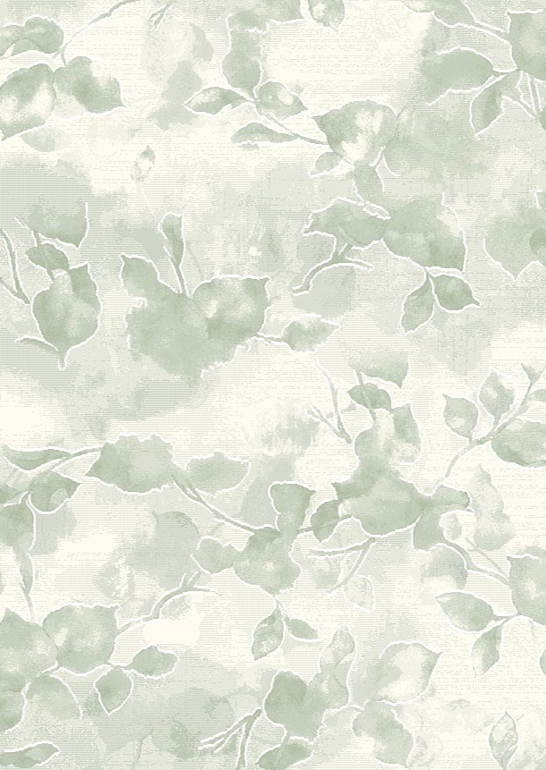 Dynamic Rugs Mysterio Floral Green 12134 Area Rug