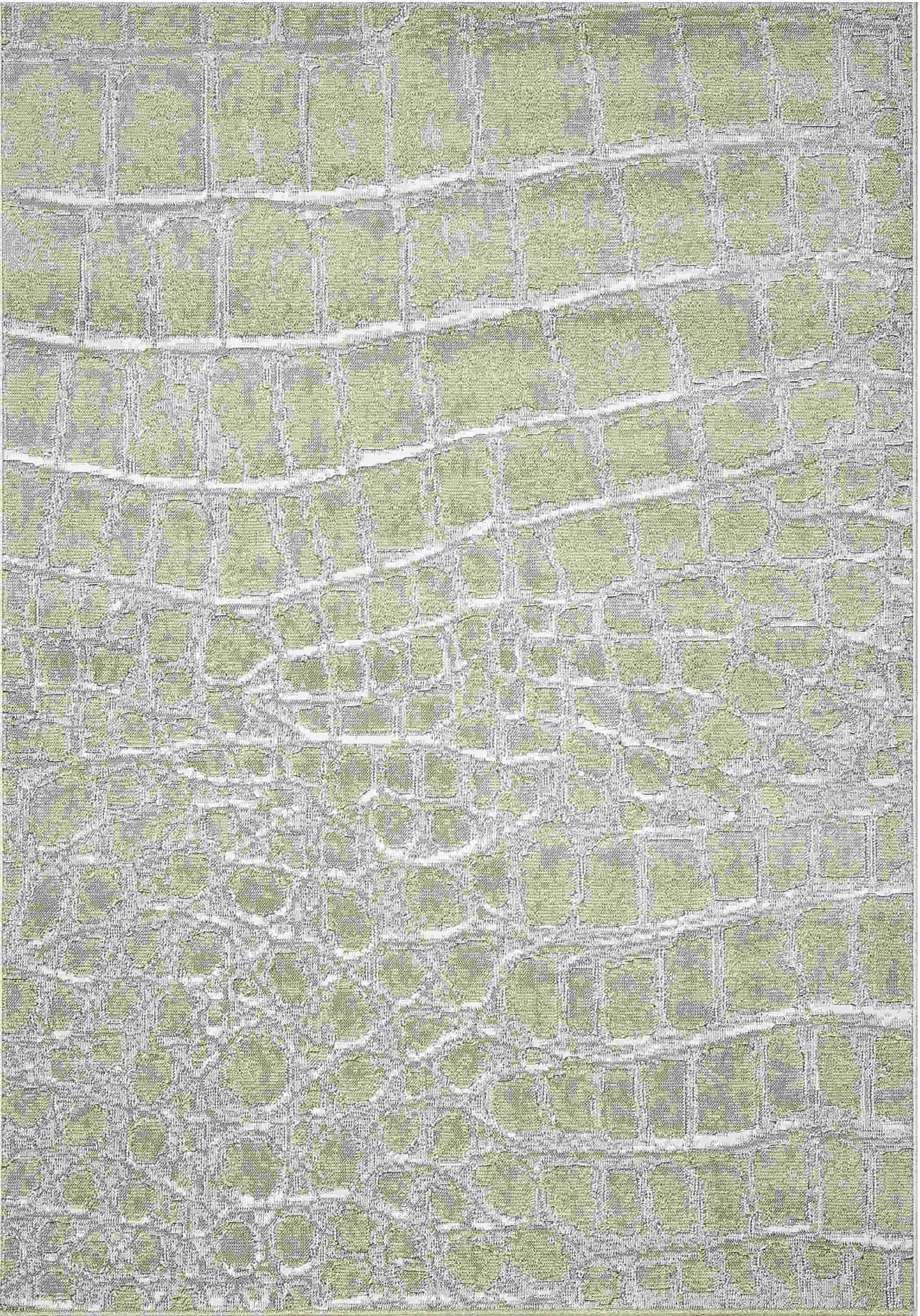 Dynamic Rugs Mysterio Modern Ivory 1218 Area Rug